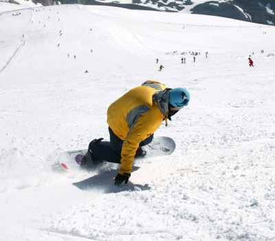 Summer ski Tignes